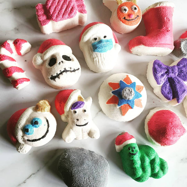 Christmas Mini Bath Bomb SET OF 15