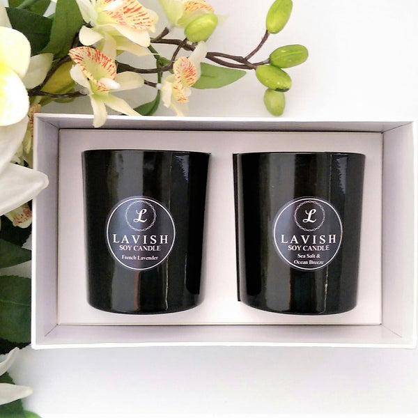 Medium Soy Candle Duo Gift Pack