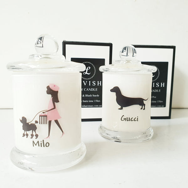 Personalised Small Soy Candle