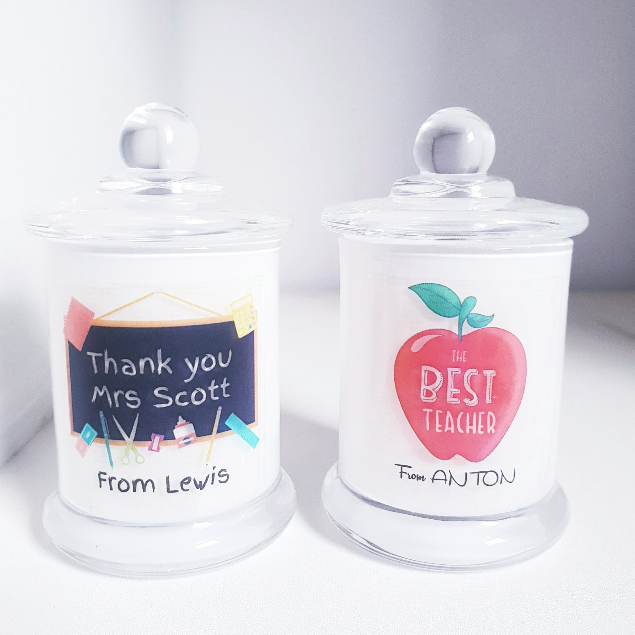 Teacher's Gift Small Soy Candle