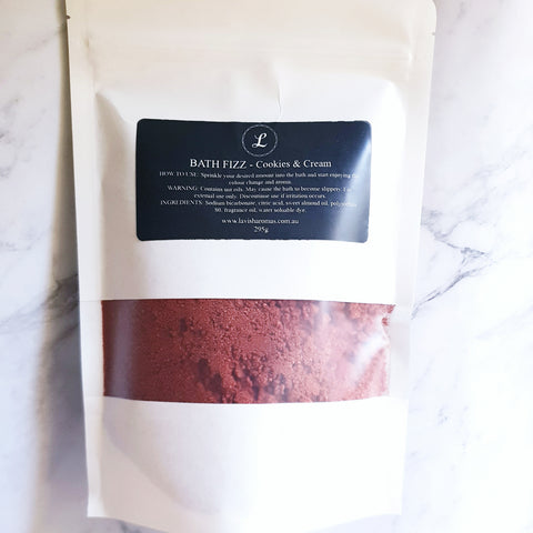 Colour Bath Fizz - Cookies & Cream 295g
