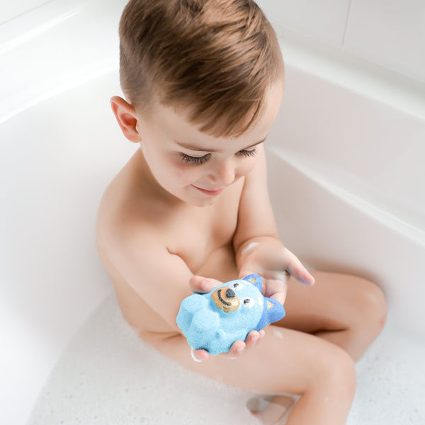 Blue Dog Bath Bomb