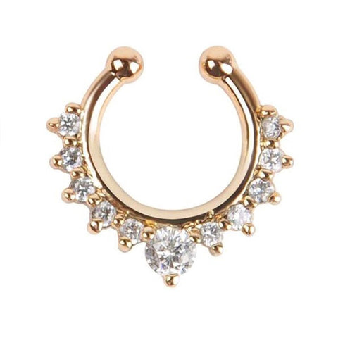 Alloy Hoop Nose Ring Nose - Coach K Mart