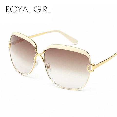 ROYAL GIRL High Quality Women Brand Designer Sunglasses Summer Luxury D frame Shades Glasses gradient lenses sun glasses ss148 - Coach K Mart