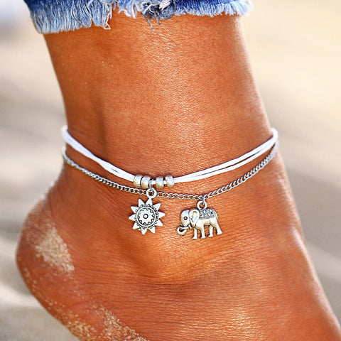 Vintage Multiple Layers Anklets For Women - Coach K Mart
