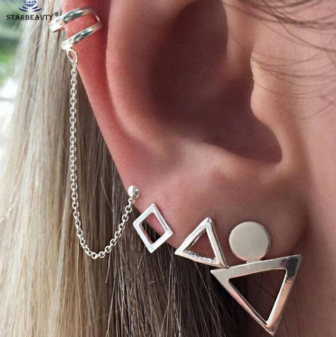 Retro Turtle Leaf Ear Piercing Helix Piercing Tragus Fake Nose Ring - Coach K Mart