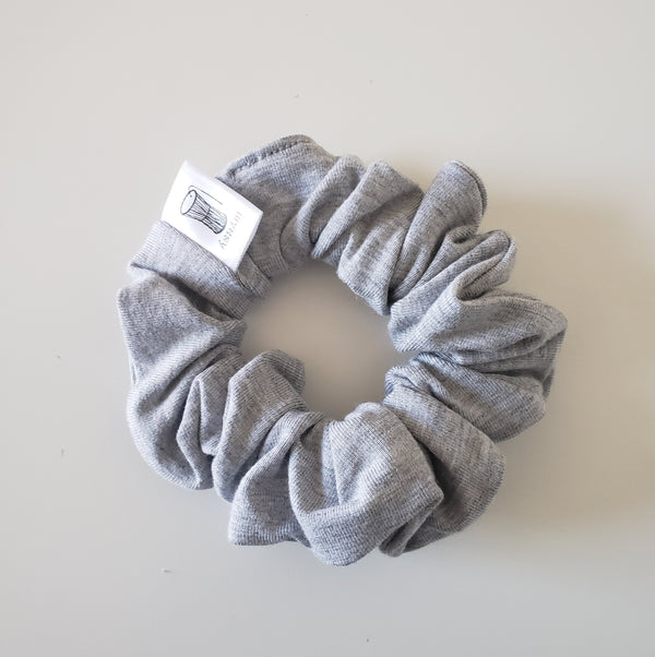 Light Grey Scrunchie