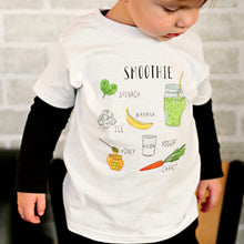 Load image into Gallery viewer, Spinach Smoothie - Kids T-shirt