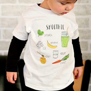 Spinach Smoothie - Kids T-shirt