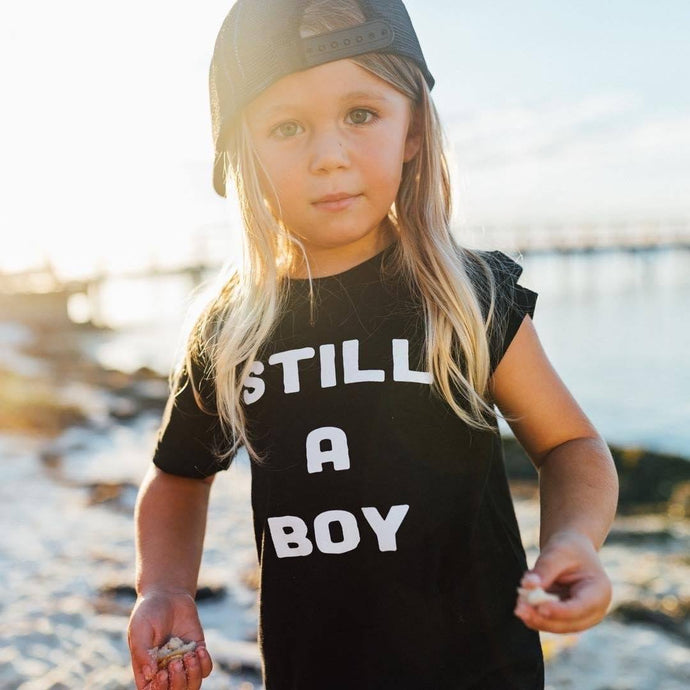 Still A Boy - Kids T-shirt