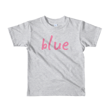 Load image into Gallery viewer, Blue - Girls T-shirt