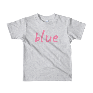 Blue - Kids T-shirt