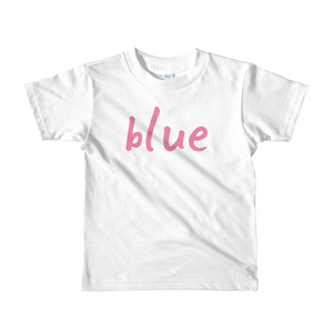 Blue - Girls T-shirt