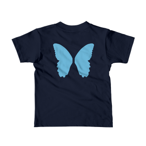 Butterfly Wings - Blue - Kids T-shirt