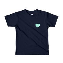 Load image into Gallery viewer, Love - Turquoise - Kids T-shirt