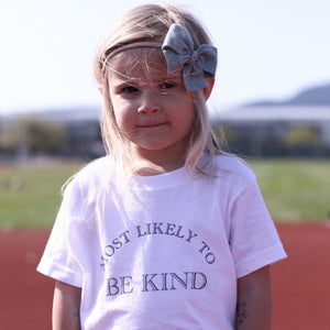 Most Likely To Be Kind - Kids T-shirt