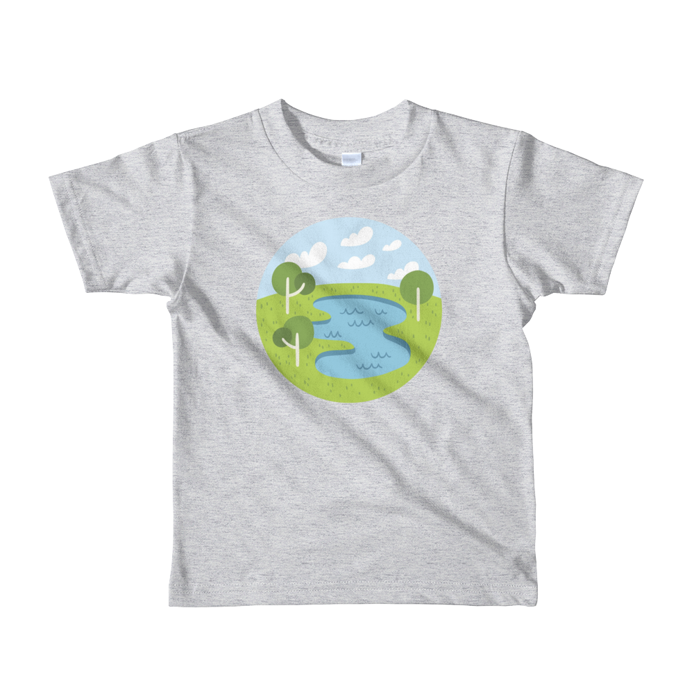 Lake - Kids T-shirt