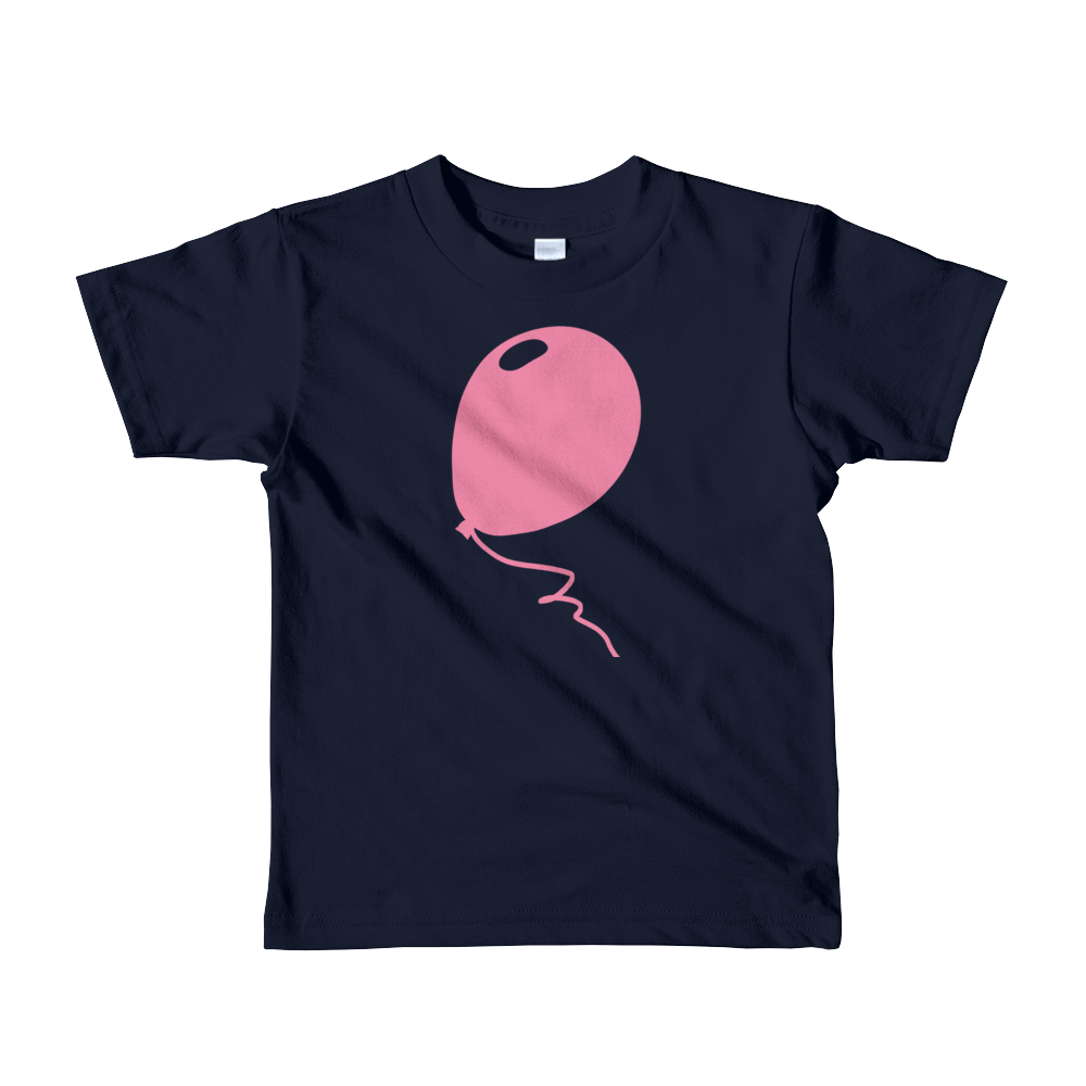 Pink Balloon Kids T-shirt