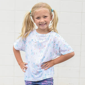 Unicorns All Over - Kids T-shirt