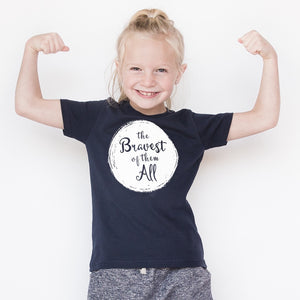 The Bravest Of Them All - Kids T-shirt