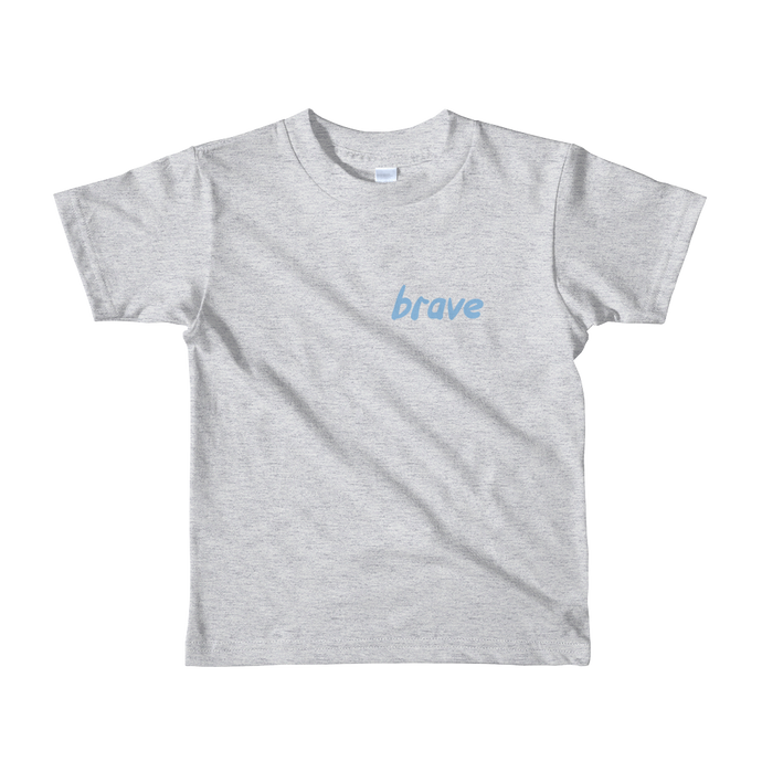 Brave - Blue - Kids T-shirt