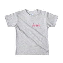 Load image into Gallery viewer, Brave - Pink - Kids T-shirt