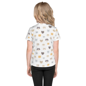 Cats All Over - Kids T-shirt