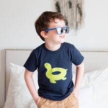 Load image into Gallery viewer, Turtle - Pool Float - Kids T-shirt