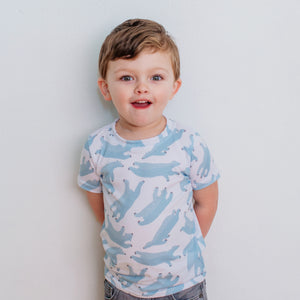 Polar Bears All Over - Kids T-shirt