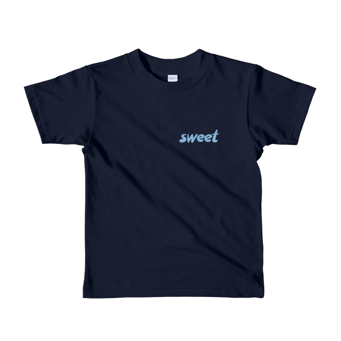 Sweet - Blue - Kids T-shirt