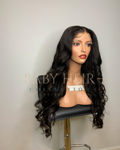 "UNIT 2: 24"" 5x5 Brazilian Straight Closure Unit (Available TODAY at 7 pm CT)"
