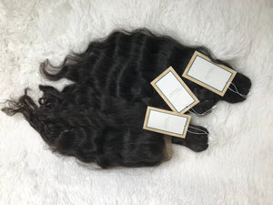 RAW Southeast Asian Natural Wavy Hair
