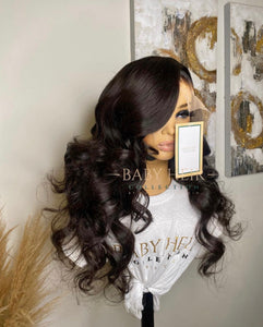 "UNIT 2: 22"" Brazilian Straight, 13x6 Transparent Frontal Unit"