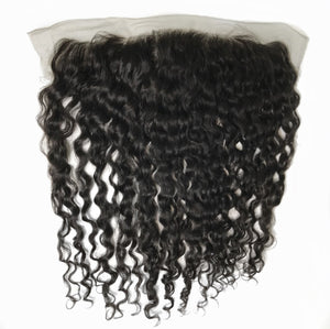 Brazilian Loose Curly Frontal