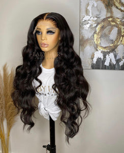 "UNIT 3: 28"" Brazilian Straight, 6x6 Transparent Closure Unit"