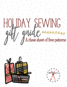Holiday Sewing Gift Guide