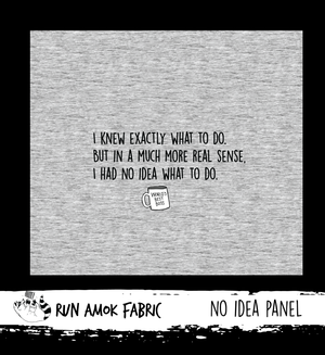 No Idea Panel - Cotton Lycra