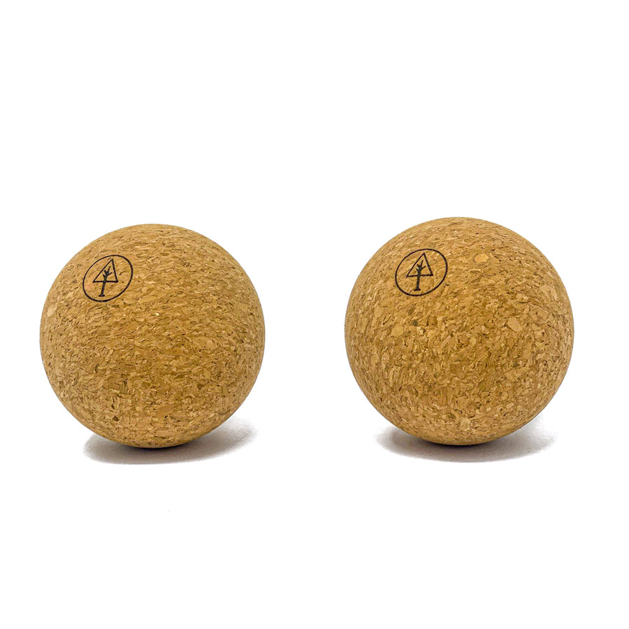 Rawlogy Cork Massage Ball Set