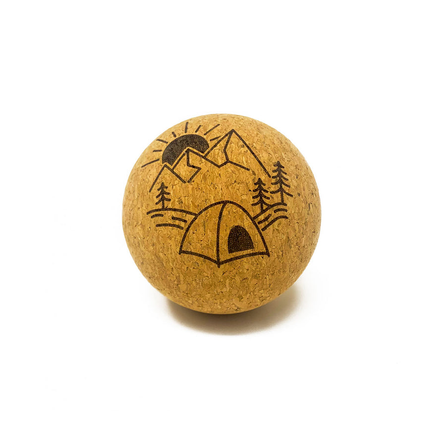 """Campsite"" Cork Massage Ball"