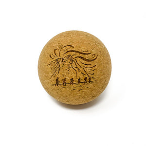 Rawlogy Custom-Engraved Cork Massage Ball