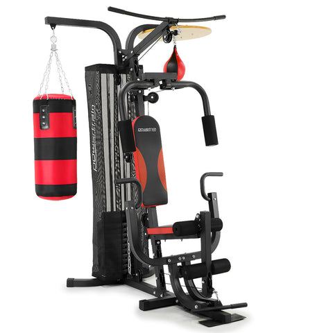 Home Gym Multi Station with Boxing Punching Bag Speed Ball Powertrain