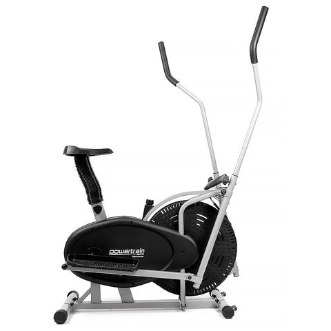 Elliptical cross trainer and exercise bike 2-in-1