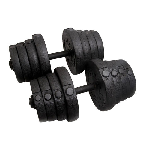 22 Piece Adjustable Dumbbell Shell Set