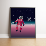 Astronaut Poster
