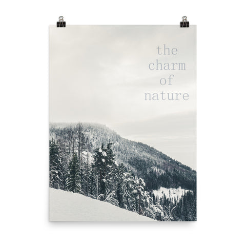 Charm of Nature Poster
