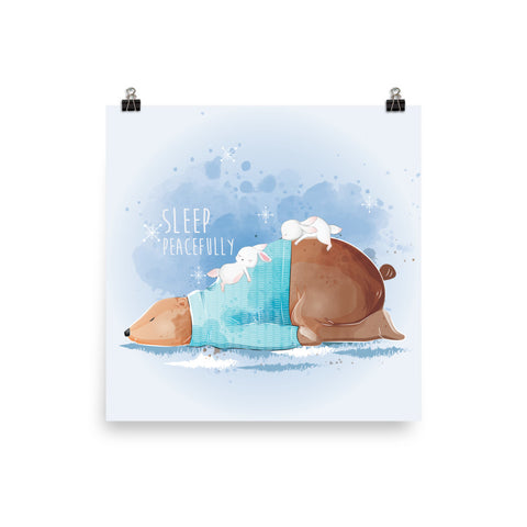 Sleep Peacefully Poster