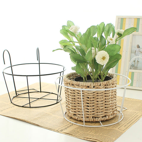 Hanging Flower Geometric Metal Stand