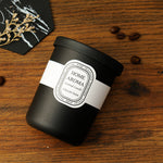 Black Glass Aromatherapy Candle