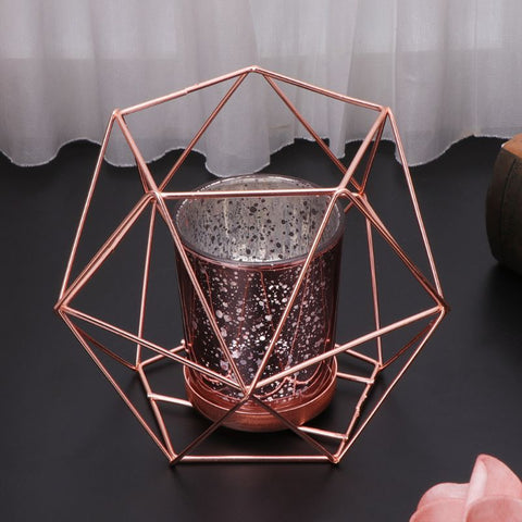 Nordic Style 3D Geometric Candle Holder