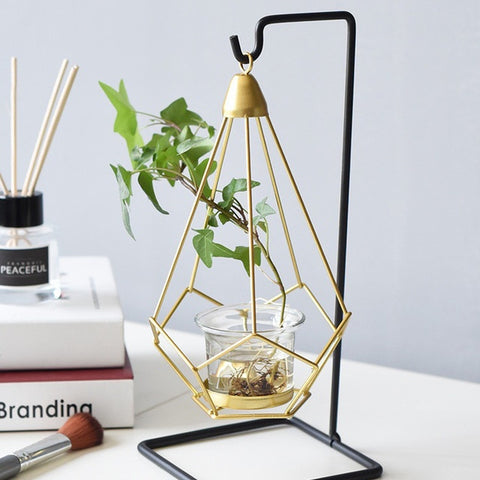 Nordic Style Geometric Candle Holder